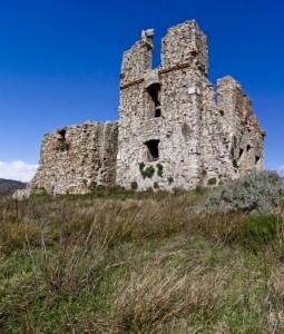 ruderi Castello di Acherentia