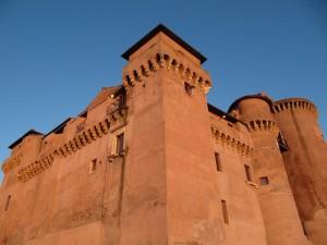 Particolare delle Torri del Castello di Santa Severa
