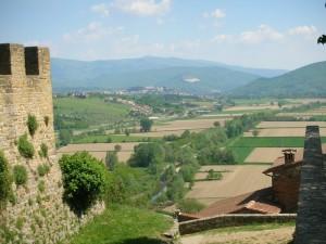 Poppi - Vista dal castello I