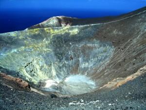 Vulcano - Cratere