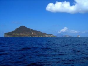 Isola di Panarea vista da sud