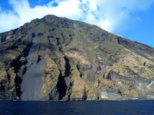 Lipari - Le ripide coste dello Stromboli