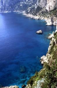 l'azzurro di Capri