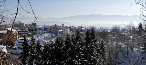 San Gregorio nelle Alpi - Panorami invernali ( Paderno di San Gregorio nelle Alpi) 1