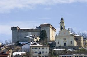 Il castello di Silvano d'Orba.