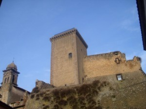 la torre di Civitella d'Agliano