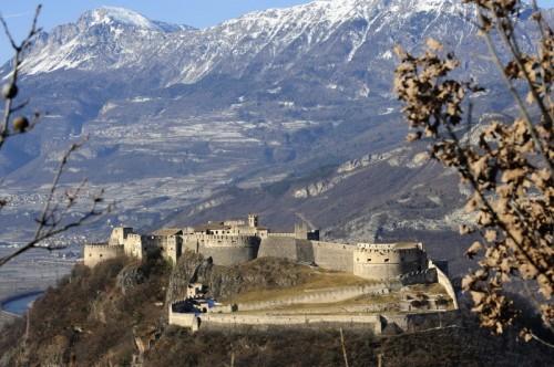Besenello - Il castello dall'alto