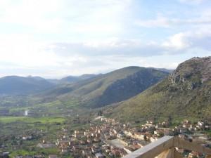 Roccasecca dal Castello di San Tommaso d'Aquino