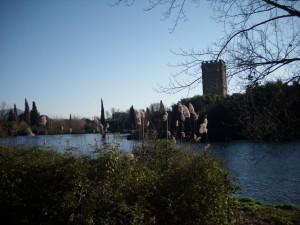 Il giardino e le rovine di Ninfa