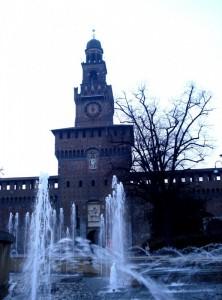 La nebbia a Castello Sforza !