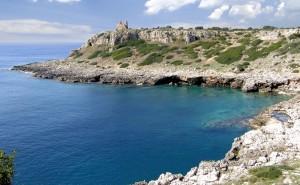 Panorama di Porto Selvaggio, Località Torre Uluzzo