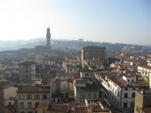 Tra i tetti di Firenze