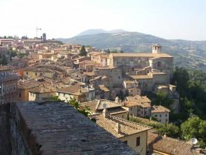 La gradinata su Perugia