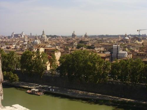 Roma - Panoramica esatta su Roma