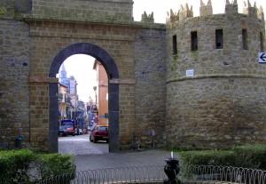 la porta di san Martino