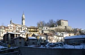 Il paese di Castelletto d'Orba.