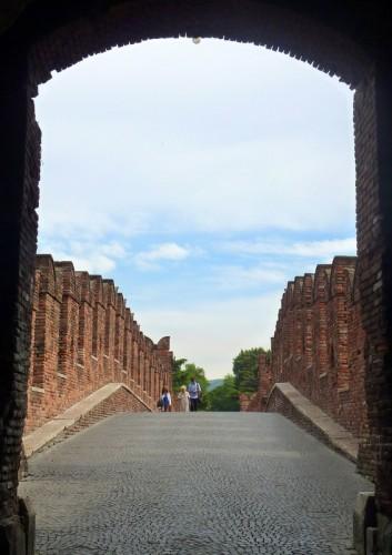 Verona - Sul ponte....