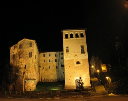 Buronzo - Castello by night