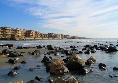 Roma - Ostia ponente e il suo mare