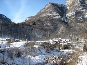 Frazione Quare nella neve