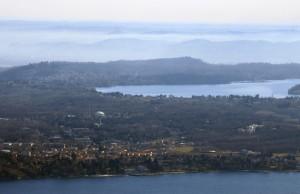 Ispra ed EURATOM tra i due laghi, Maggiore e Monate
