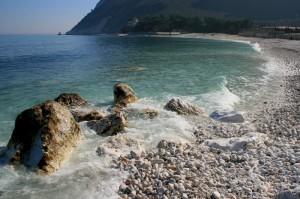 La spiaggia della vela…..
