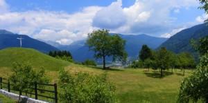 Panorama dalla frazione Priola