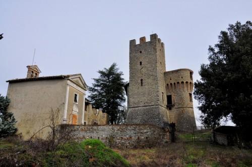 Umbertide - serra partucci chiesa e castello