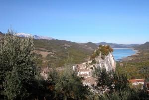 Pietraferrazzana,la Majella, il lago di Bomba