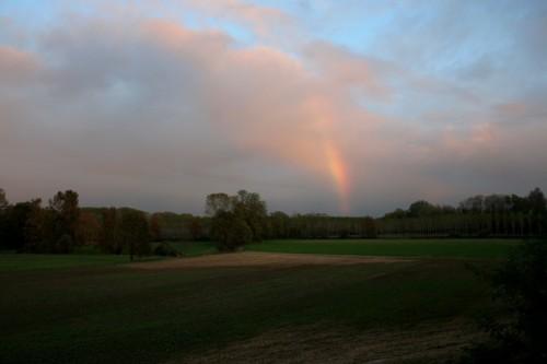 Castiglione d'Adda - arcobaleno