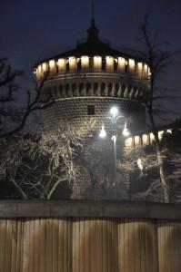 Torrione del Castello Sforzesco