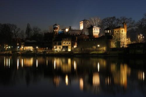 Torino - Borgo Medievale - notturno