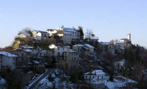 Il paese di Cassinelle.