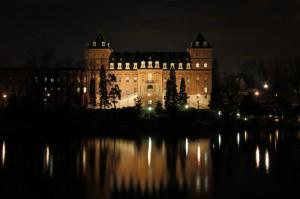 Castello del Valentino - notturno