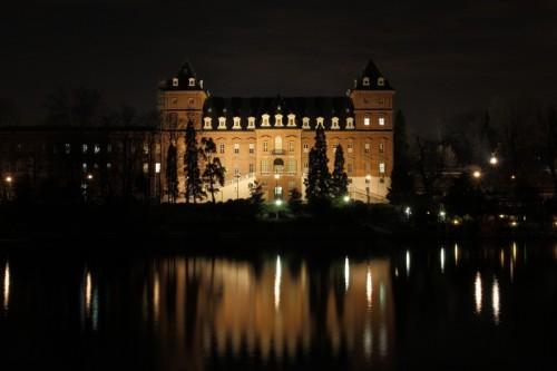 Torino - Castello del Valentino - notturno