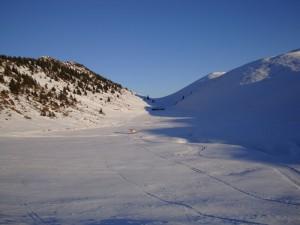 Lo spiazzo della conca del monte Farno