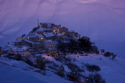 Norcia - Castelluccio Febbraio 2010 - 18 Gradi di Temperatura #17