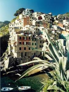 Una delle Cinque Terre: la bella Riomaggiore