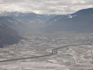 Bolzano nel gelo