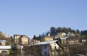 Il paese di Belforte Monferrato.