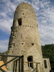 Torre del castello anti Saraceni e alti invasori