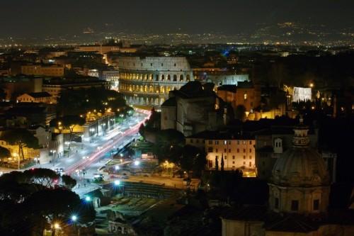 Roma - Luci della città eterna