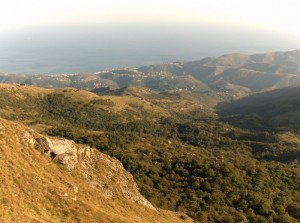 Cogoleto dal Monte Beigua