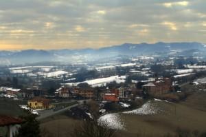 Panoramica di Gabiano