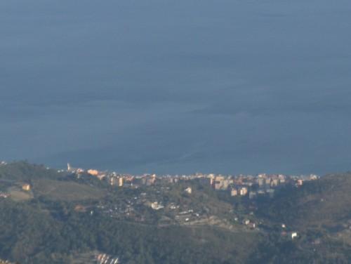 Cogoleto - Cogoleto e il campanile sul mare