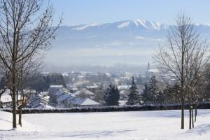 Mattinata invernale a Santa Giustina