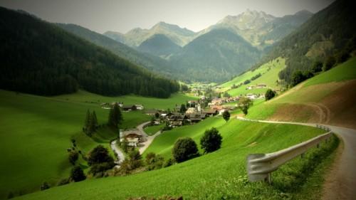 Valle Aurina - verde aurino