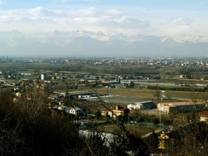 Castiglione, Settimo e le Alpi