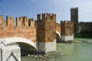 Castelvecchio e il ponte Scaligero.