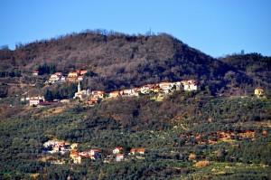 Testico: piccolo paese dell'entroterra di Andora